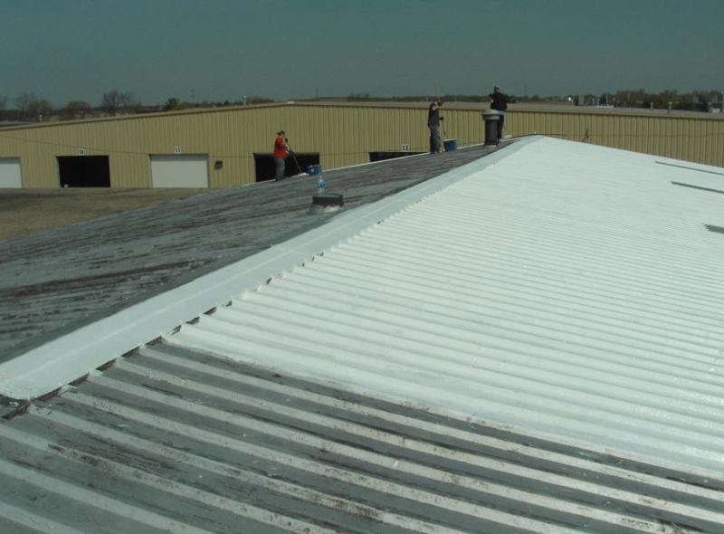 Repainting Roof